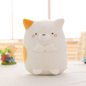 White kitten/cat plush toy
