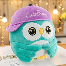 Cute tiffany blue owl plushie for your friends who just graduated. Wishing them continued success in the future.