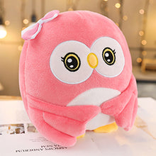 Load image into Gallery viewer, Cute pink owl plushie for your friends who just graduated! Wishing them a great success in the future.