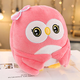 Cute pink owl plushie for your friends who just graduated! Wishing them a great success in the future.