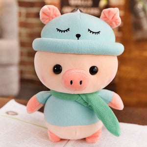 blue pig cute plushie