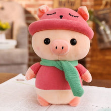 Load image into Gallery viewer, pink cute pig plushie