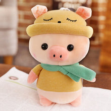 Load image into Gallery viewer, yellow cute pig plushie