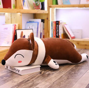 cute brown fox plushie