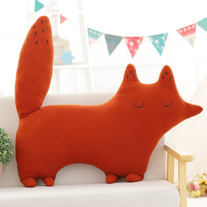 stuffed cute fox plushie