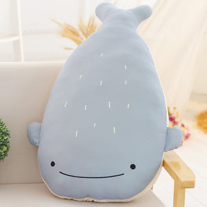 stuffed cute whale plushie