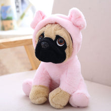 Load image into Gallery viewer, cute pug dog in pig plushie