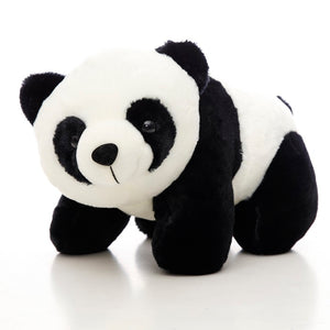 This cute giant kneeling panda plushie are safe for babies to use.