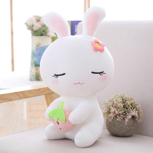 This cute white bunny plushie is just so adorable and clean.