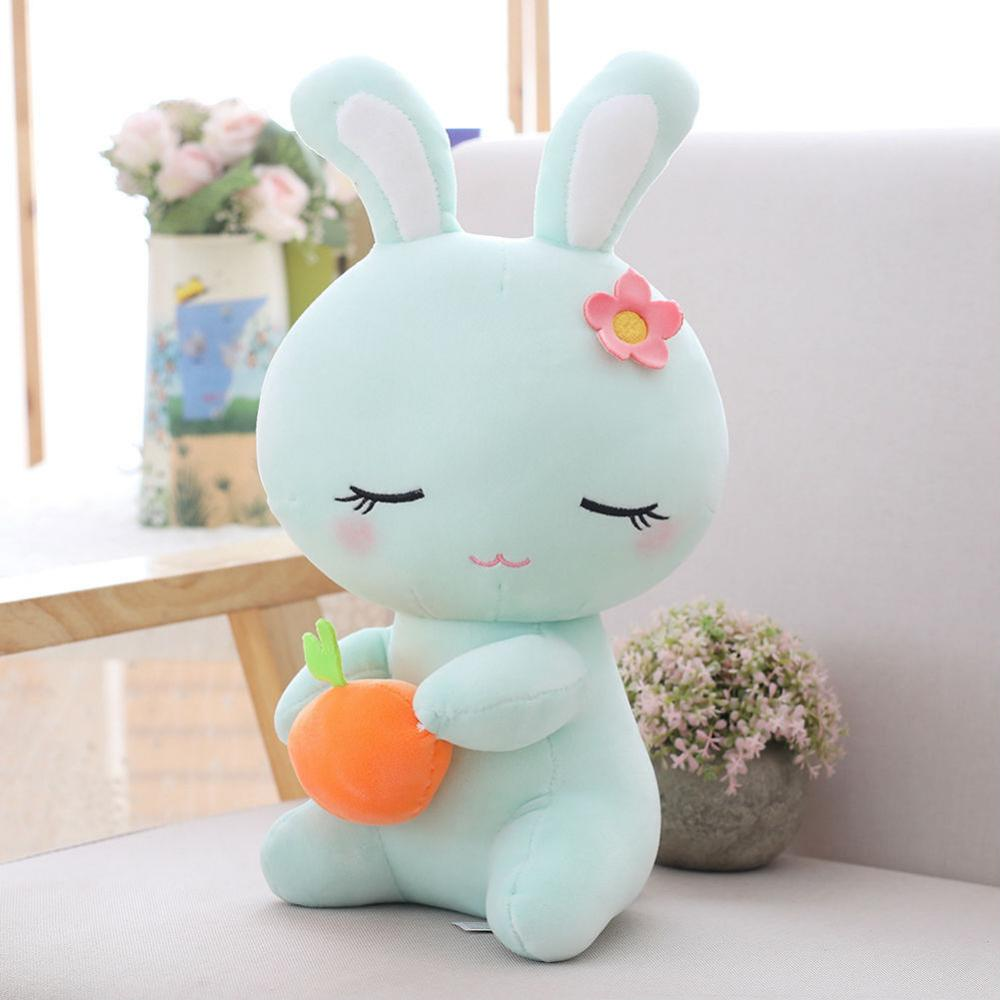 Tiffany-blue goers will no doubt get this cute little bunny plushie when they see this.