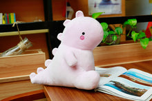Load image into Gallery viewer, pink dinosaur plushie