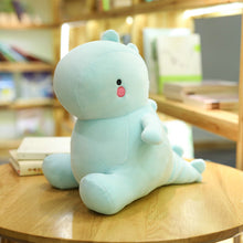 Load image into Gallery viewer, cute dinosaur plushie on table