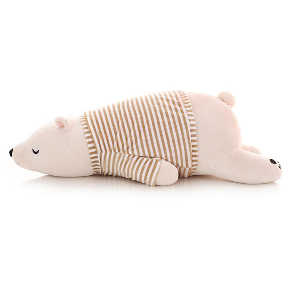 Polar Bear in Pyjamas Plushie 35/50cm