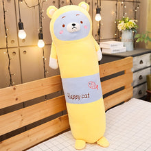 Load image into Gallery viewer, Long Pillow/Bolster Animal Plushie 65-120CM