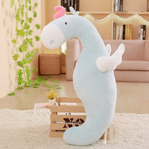 Get this cute blue unicorn plushie for your friends who need or will love them.