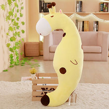 Load image into Gallery viewer, Get this cute yellow giraffe plushie for your friends who need or will love them.