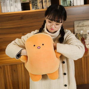 cute squishy korean cartoon plushie in orange