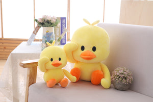 cute saluting duck plushies