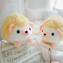 Load image into Gallery viewer, spikey cute little orange hedgehog plushie