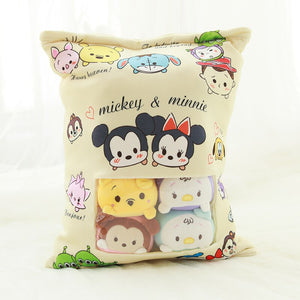 cute mini tsum tsum plushie snack in pudding bag