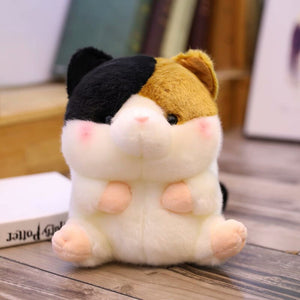 cute round and fat hamster plushie
