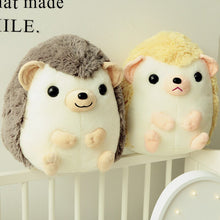 Load image into Gallery viewer, cute smiley squishy hedgehog plush toy