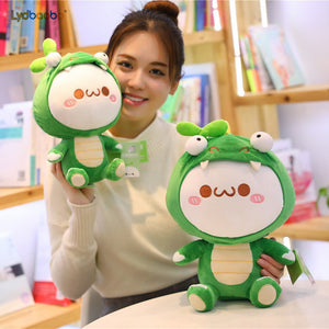 Get this cute rabbit plushie for your friends or family who's obsessed with green