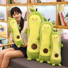 Load image into Gallery viewer, avocado long pillow or bolster plushies