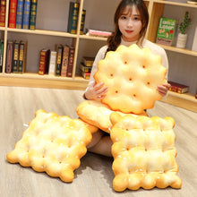 Load image into Gallery viewer, Cute salty crackers plushies for cushion