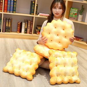 Cute salty crackers plushies for cushion