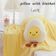 Load image into Gallery viewer, Cute Egg Plushie with Blanket
