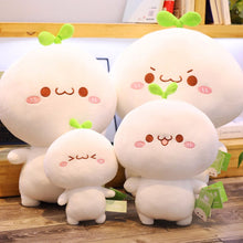 Load image into Gallery viewer, cute dumpling plushie with different sizes and facial expression