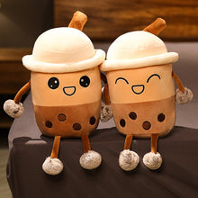 Load image into Gallery viewer, cute cartoon boba bubble tea plush