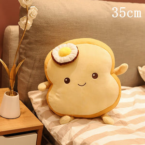 Cute Toast Plushie - Sliced and Full Loaf 25/35/40/45/80CM