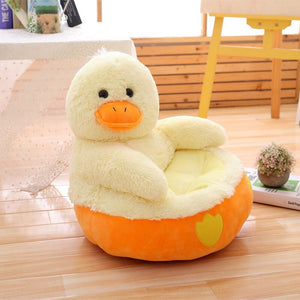 cute duck plushie chair