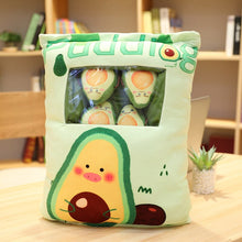 Load image into Gallery viewer, Avocado Plushie Bag 50*40/ 40*30CM