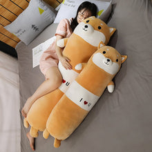 Load image into Gallery viewer, Get this corgi plushie for your friends/family who are allergic to animals but still love to hug them.