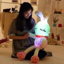 Load image into Gallery viewer, Cute rabbit plushie to accompany your kid and help them sleep at night