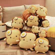 Load image into Gallery viewer, A family of cute bread plushie! How adorable