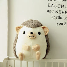 Load image into Gallery viewer, cute squishy and spikey grey hedgehog stuffed animal