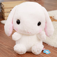 Load image into Gallery viewer, white stuffed bunny cute backpack