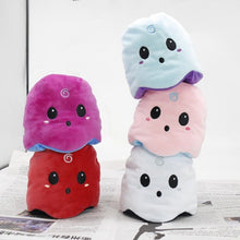 Load image into Gallery viewer, cute reversible ghost plush toy can be cute or can be angry