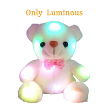 Load image into Gallery viewer, Cute Luminating/ Recording Teddy Bear Plushie 22CM