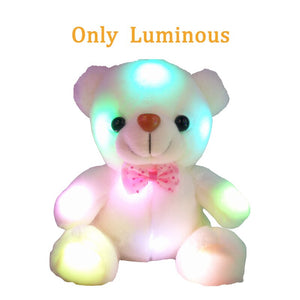 Cute Luminating/ Recording Teddy Bear Plushie 22CM