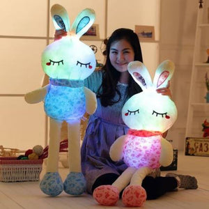 Cute rabbit plushie huge enough to be your snuggies at night