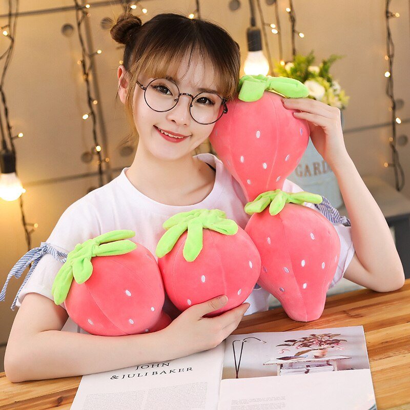 Cute & Soft Strawberry Plushie 20CM