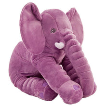 Load image into Gallery viewer, cute elephant plush in purple