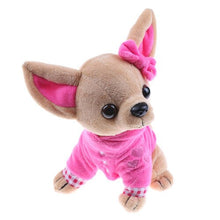 Load image into Gallery viewer, Cute rose chihuahua puppy plushie
