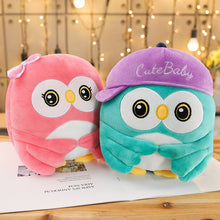 Load image into Gallery viewer, Look at the cute baby owl plushie here! Aren't they too cute to resist?