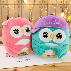 Look at the cute baby owl plushie here! Aren't they too cute to resist?